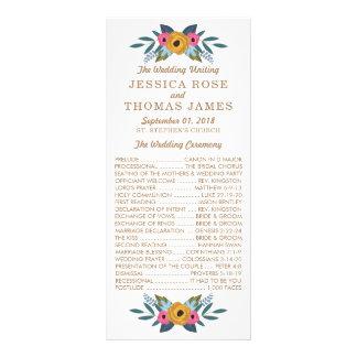 Carte Publicitaire La collection blanche de mariage de guirlande