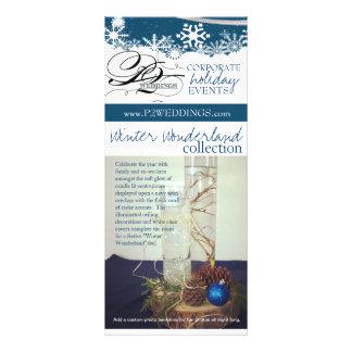 Carte Publicitaire Le pays des merveilles d'hiver des mariages P2