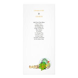 Carte Publicitaire Plage botanique des Succulents | personnalisée