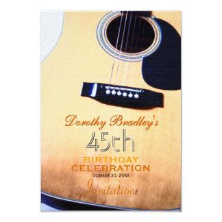 Carte Quarante-cinquième coutume de célébration