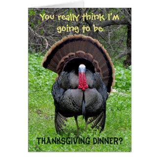 Carte rebelle de thanksgiving de la Turquie