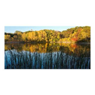 Carte Réflexions d'automne de parc de Marthaler