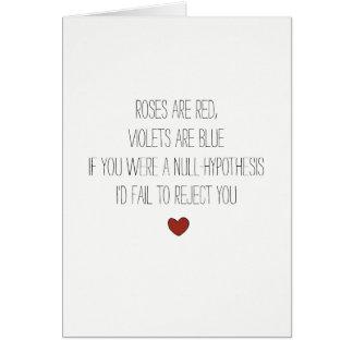 carte ringarde de Valentines de plaisanterie de