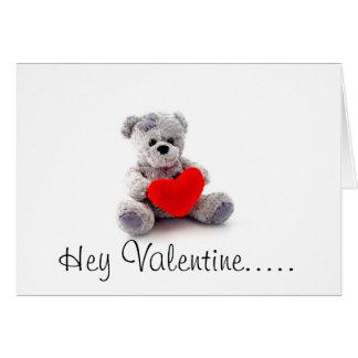 Carte Romance espiègle de heureuse Sainte-Valentin