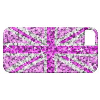 Carte rose BRITANNIQUE de l'iPhone 5 ID/credit de  Coques iPhone 5