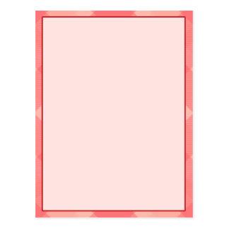 Carte rose de bannière de typographie de blanc de