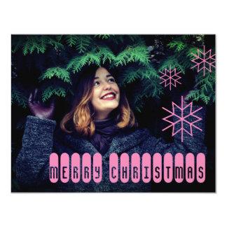Carte rose irritable de Joyeux Noël