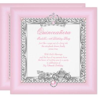 Carte Rose magique de conte de fées de 15ème