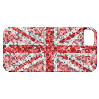 Carte rouge BRITANNIQUE de l'iPhone 5 ID/credit de Coques iPhone 5 Case-Mate