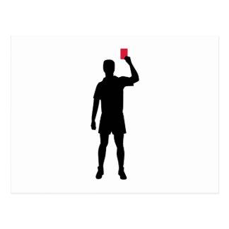 Carte rouge d'arbitre