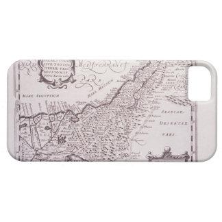 Carte sacrée de la Palestine, la terre promise Coque Case-Mate iPhone 5