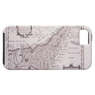 Carte sacrée de la Palestine, la terre promise Coque iPhone 5 Case-Mate