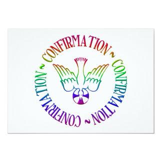 Carte Sacrement de la confirmation - descente de