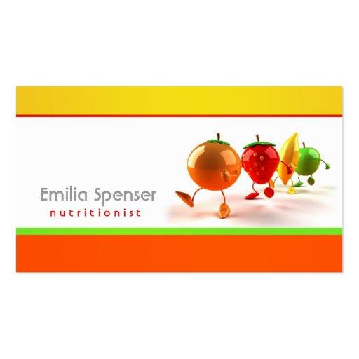 Carte saine de blanc jaune et orange simple de la mod le - Cuisine saine et simple ...