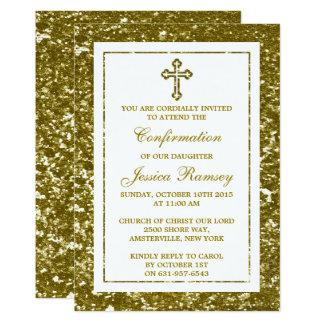Carte Sainte communion ou confirmation de croix de