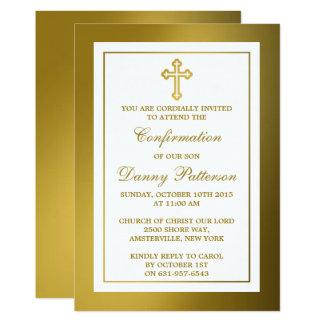 Carte Sainte communion ou confirmation métallique de