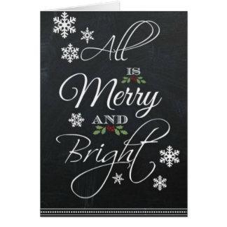 Carte saisonnière de Joyeux Noël