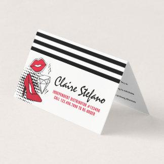 Carte S'appliquer de distributeur de rouge à lèvres