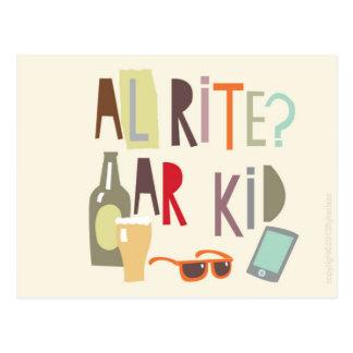 Carte Scouse - Alrite AR badinent