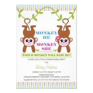 Carte Singe il Monkey que la le genre indiquent la