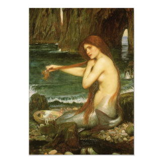 Carte Sirène par le château d'eau de JW, art victorien