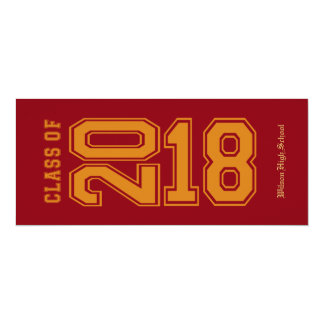 Carte Sports - classe rouge et orange orientée de 2018