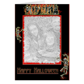 Carte squelettique de frontière de danse
