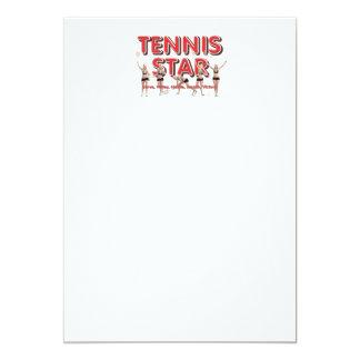 Carte Star du tennis SUPÉRIEUR