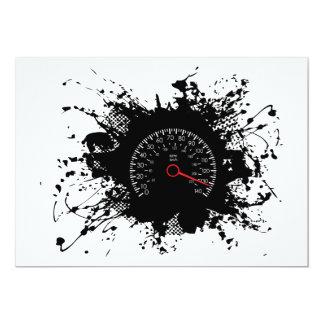 Carte Style urbain 4 d'emblème de vitesse