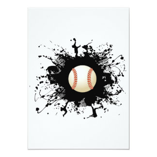 Carte Style urbain de base-ball