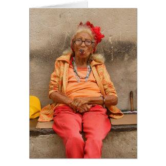 Carte supérieure cubaine de dames