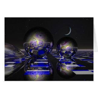 Carte surréaliste de la science fiction