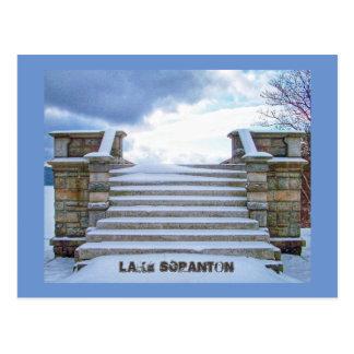 Carte-Surveillance de Scranton de PA-Lac de Cartes Postales