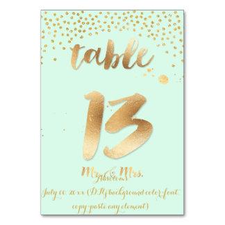 Carte Tableau 13 de PixDezines+couleur de l'or