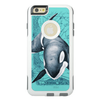 Carte Teal d'orque Coque OtterBox iPhone 6 Et 6s Plus