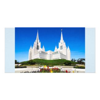 Carte Temple de LDS San Diego horizontal