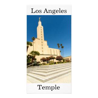 Carte Temple de Los Angeles LDS