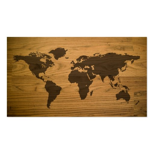 carte texturis e du monde de fibre de bois carte de visite. Black Bedroom Furniture Sets. Home Design Ideas