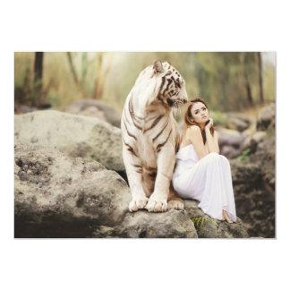 Carte Tigre et Madame de Bengale