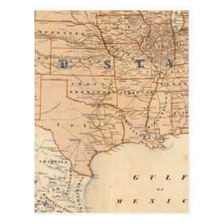 Carte topographique des Etats-Unis
