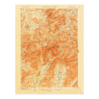 Carte topographique vintage de Marcy New York de