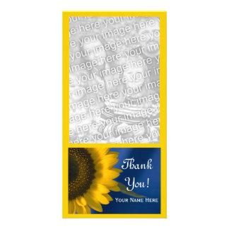 Carte Tournesol jaune sur le Merci bleu