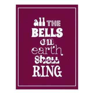 Carte Toutes les Bells sur terre sonneront