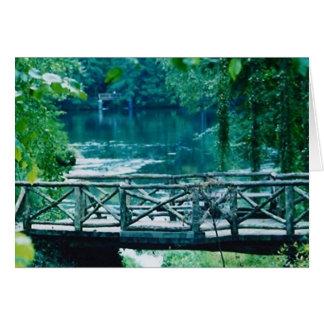 carte tranquille de pont