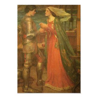 Carte Tristan et Isolde par le château d'eau, beaux-arts
