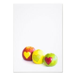 Carte Trois pommes