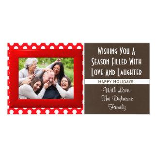 Carte Une saison de Noël d'amour et de rire