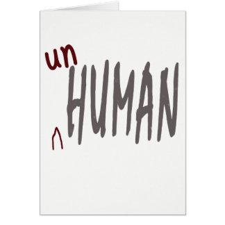 carte unhuman