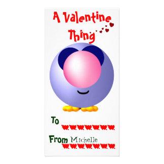 Carte Valentines de salle de classe