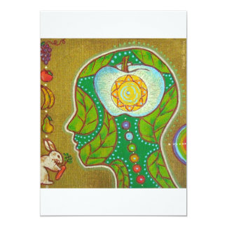 Carte vegan chakra